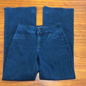 NYDJ Trouser Fit Wide flare leg jeans